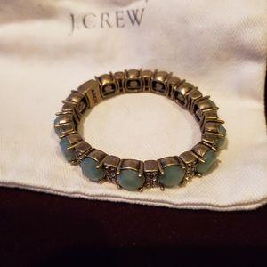 NWOT J Crew Jade stone bracelet
